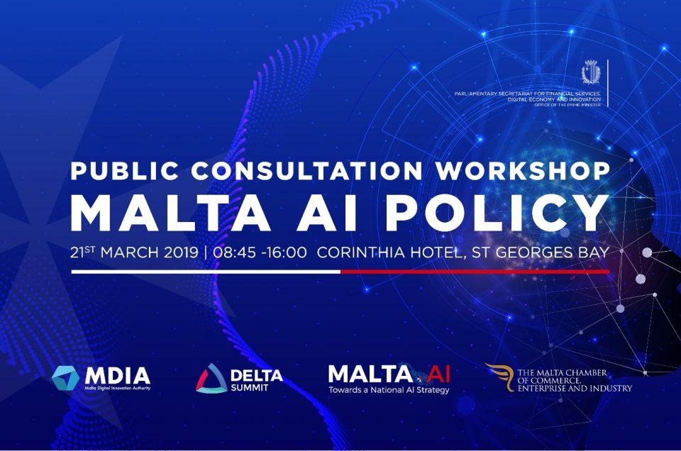 Malta.AI Public Consultation Workshop